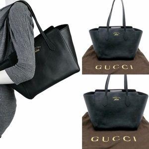 Authentic Black Gucci tote bag